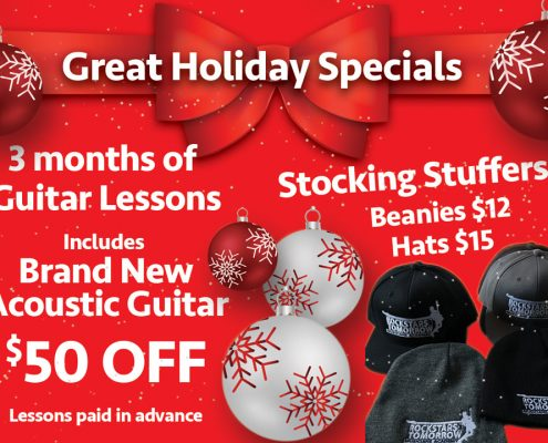 2016 Holiday Promotion Flyer